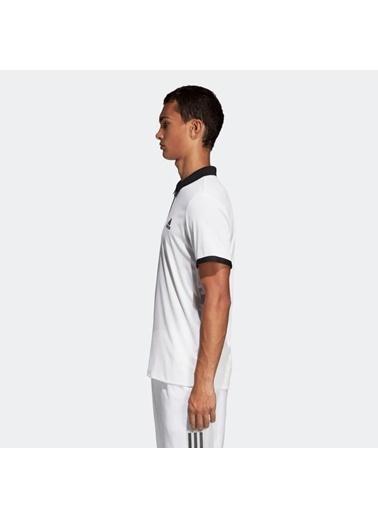 adidas Adidas Erkek Tenis Polo Yaka T-Shirt Dt4504 Escouade Polo Siyah